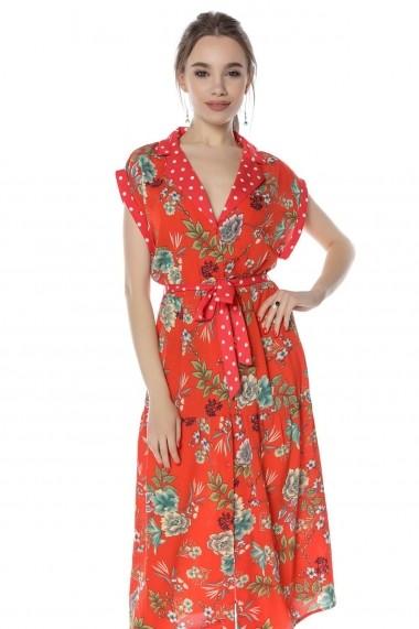 Rochie midi Roh Boutique DR3806 Florala