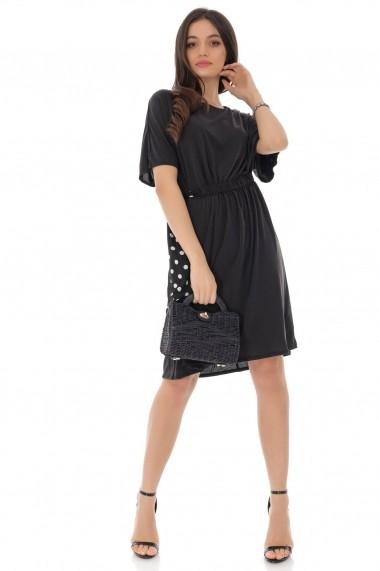 Rochie midi Roh Boutique DR4112 Neagra