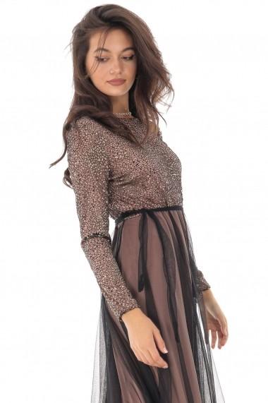 Rochie lunga Roh Boutique DR4103 Aurie