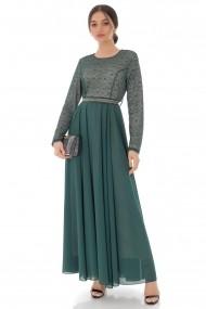 Rochie lunga Roh Boutique DR4104 Verde