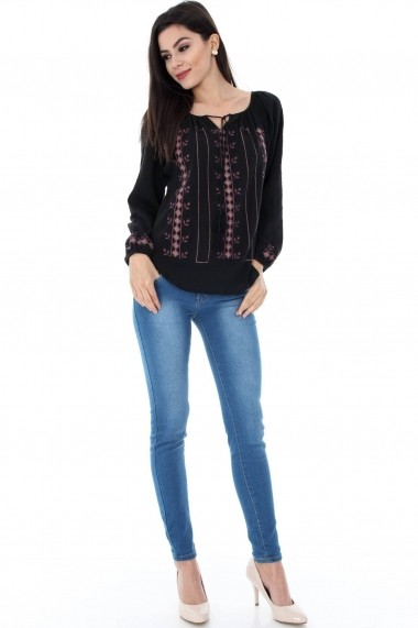 Ie Roh Boutique BR502-N Neagra