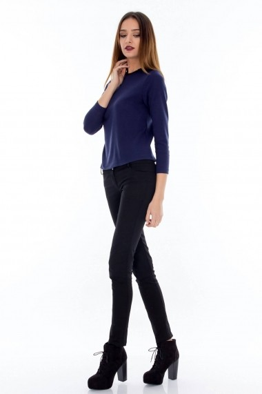 Bluza Roh Boutique cu margele - BR893 Bleumarin