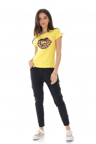 Tricou Roh Boutique BR2273 Galben