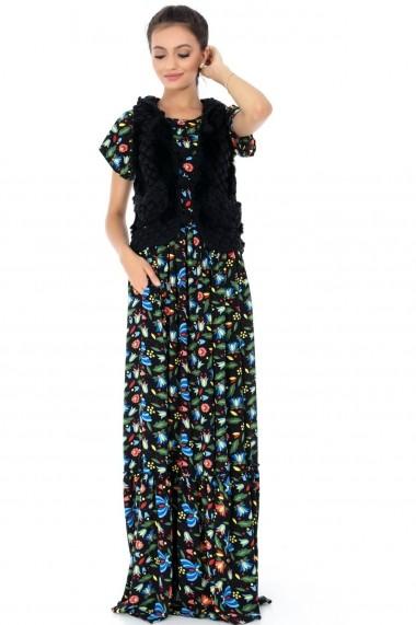 Vesta Roh Boutique neagra, ROH, cu gluga - BR1808-G negru One Size