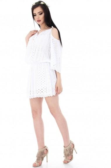 Rochie de zi Roh Boutique DR2901 Alba