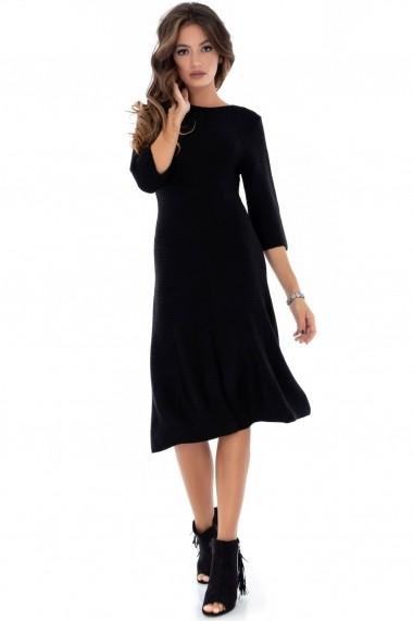 Rochie de zi Roh Boutique DR3598 neagra