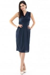 Rochie midi Roh Boutique CLD334 bleumarin