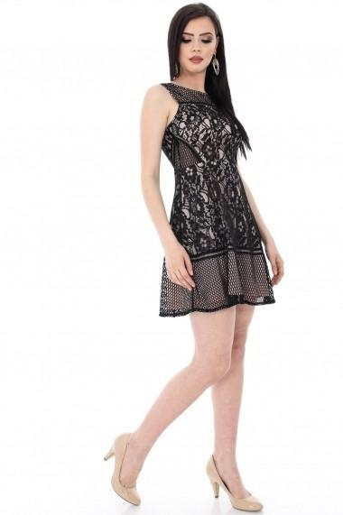 Rochie scurta Roh Boutique DR2884 neagra