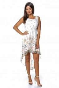 Rochie de seara Roh Boutique - DR3501 crem|multicolora
