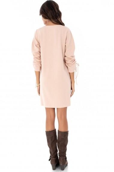 Rochie scurta Roh Boutique DR3565 roz