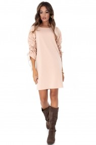 Rochie de seara Roh Boutique - DR3565 roz