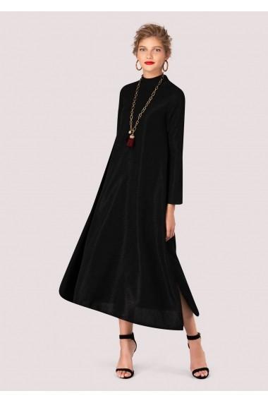 Rochie de seara Roh Boutique neagra, ROH, oversize - DR3605 negru