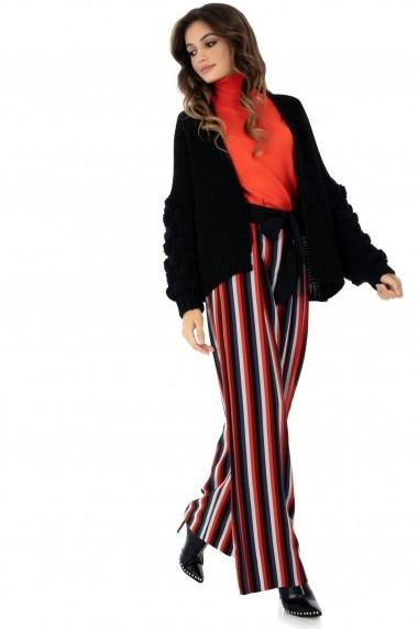 Pantaloni largi Closet London in dungi - TR287 multicolor