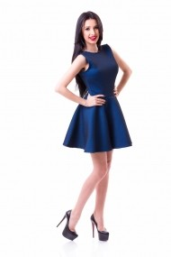 Rochie DoubleYou Store albastru royal WS01