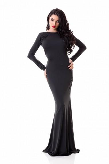 Rochie lunga DoubleYou Store negru WL02