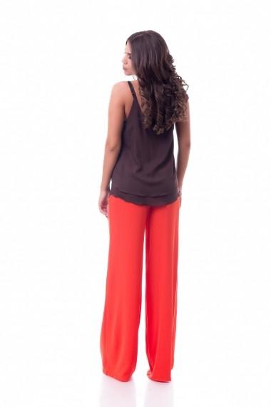 Pantaloni largi DoubleYou Coral Pants