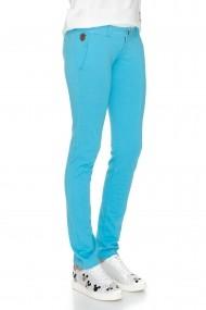 Pantaloni drepti Cuana Circolo 01 model sport-casual Azuriu