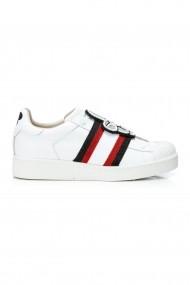 Pantofi sport casual Moa Disney White Elastic Alb
