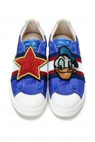 Pantofi sport casual Moa Disney Satin Blue Bleu