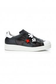 Pantofi sport casual Moa Disney Megapatch Black Negru