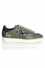 Pantofi sport casual BUTTERFLY LEATHER Verde
