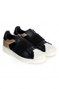 Pantofi sport casual PONY LEATHER Negru
