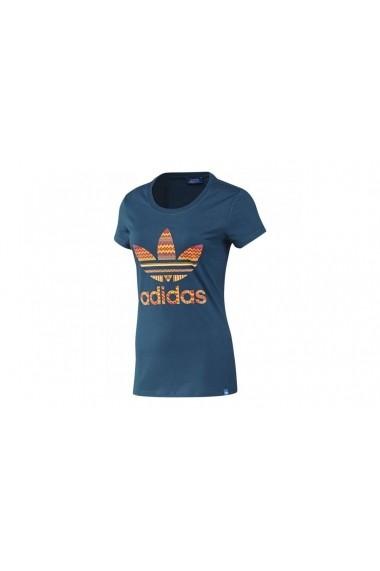 Tricou Adidas F82108 Albastru - els