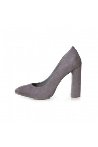 Pantofi cu toc Rammi RMM-8277 Gri