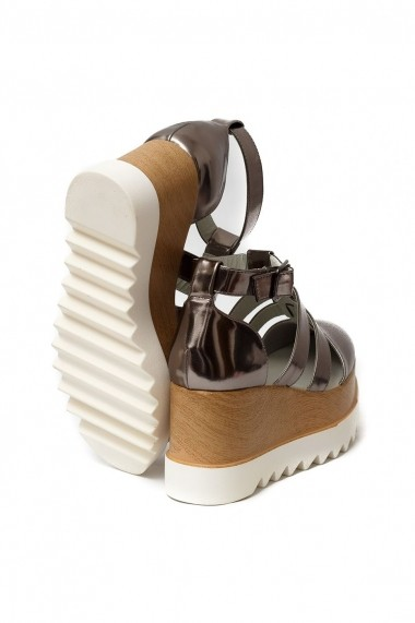 Sandale Rammi gri bronz usoare si comode