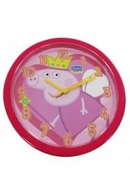 Ceas PEPPA PIG OROLOGIO DA PARETE ROSSO / RED WALL CLOCK diam 25cm