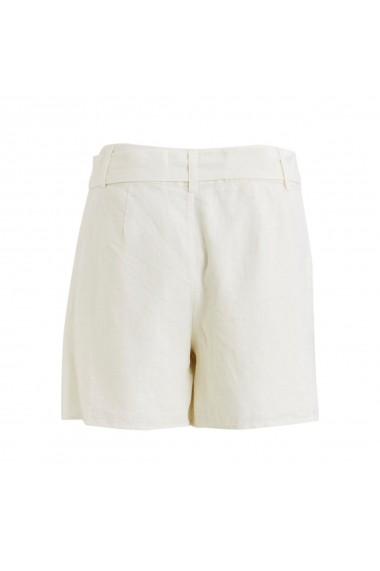 Pantaloni scurti VILA GGH363 alb