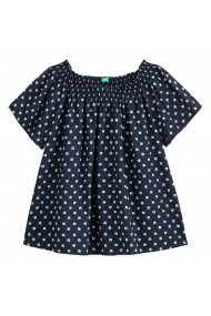 Блуза BENETTON GGD263-4910 тъмносиньо