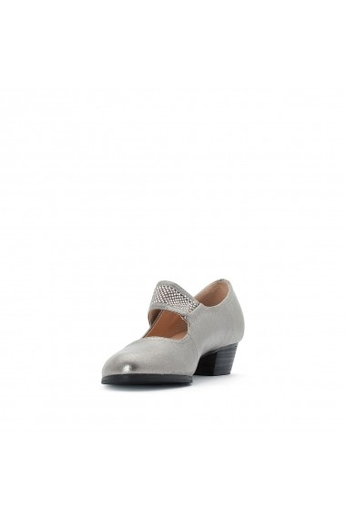 Pantofi cu toc ANNE WEYBURN GEZ813 argintiu