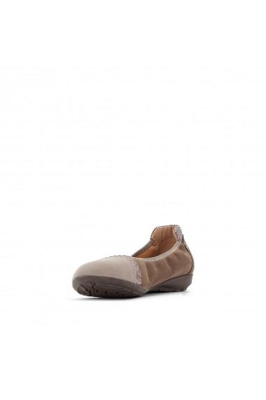 Pantofi cu toc ANNE WEYBURN GFA806 gri-bej