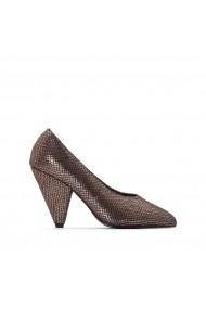 Pantofi cu toc CASTALUNA GFC282 auriu