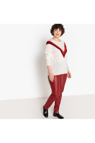 Pantaloni CASTALUNA GBY390 rosu