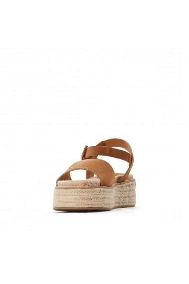 Sandale cu platforma COOLWAY GGK921 bej