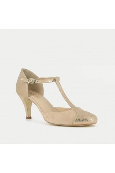 Pantofi cu toc JONAK GET472 gri