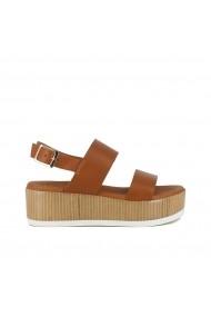 Sandale cu platforma JONAK GGL698 maro