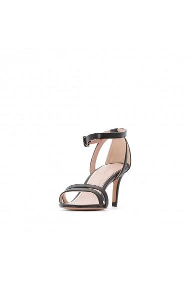 Sandale cu toc ESPRIT GGJ217 negru - els