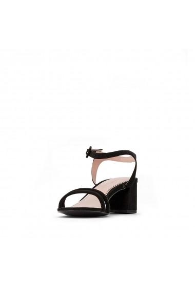 Sandale cu toc ESPRIT GGJ220 negru