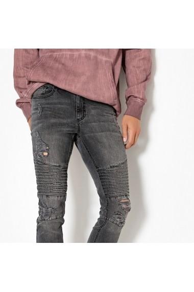 Jeans La Redoute Collections GFE928 negru - els