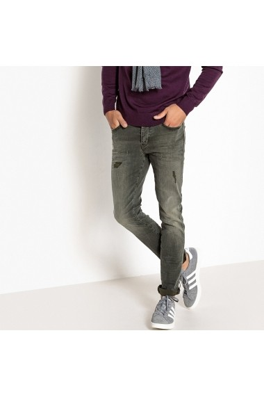 Jeans La Redoute Collections GFG242 kaki