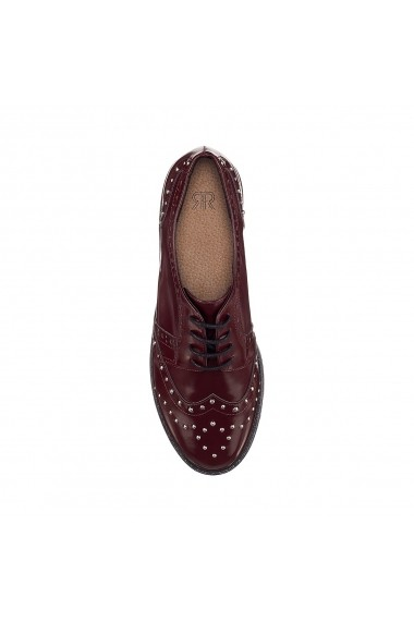 Pantofi La Redoute Collections GEY759 bordo