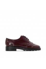 Pantofi La Redoute Collections GEY759 bordo