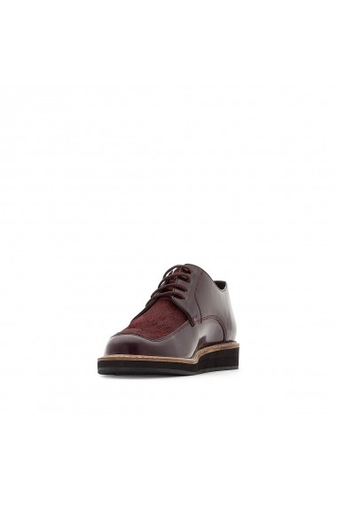 Pantofi La Redoute Collections GFE486 bordo