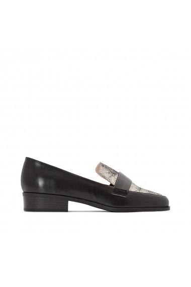 Pantofi cu toc La Redoute Collections GEZ577 negru