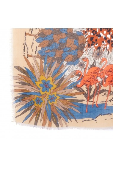 Esarfa La Redoute Collections GFA005 bej - els