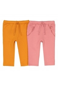 Set 2 perechi pantaloni La Redoute Collections GET712 roz