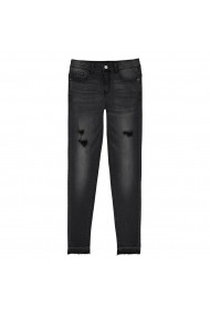Jeans La Redoute Collections GEU232 negru